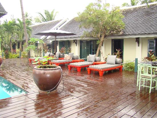 Villa Maly: la piscine