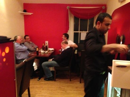 Mela Spice Fusion: top waiter Mifta