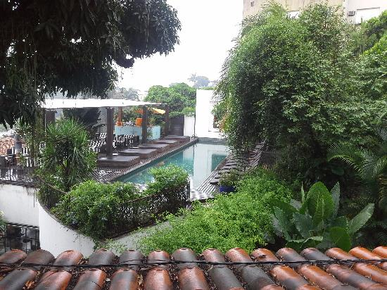 Hotel Santa Teresa MGallery by Sofitel: View from the window of our room