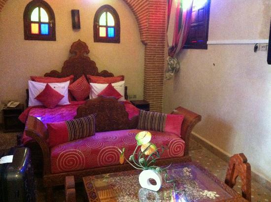 Riad & Spa Mabrouk: Tusen och en natt! Underbart rum! 