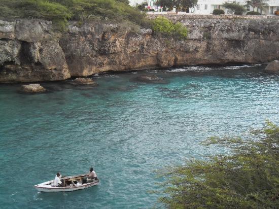 Bahia Apartments & Diving: Vista desde el apartamento