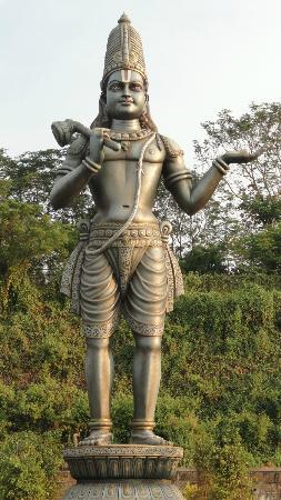 Andhra Pradesh, India: Annamayya statue, Dwaraka Tirumala