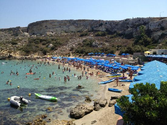 Mellieha, مالطا: Paradise bay spiaggia 