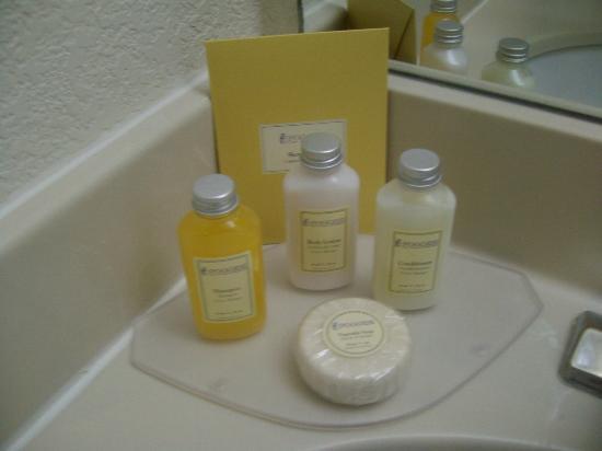 Sonesta ES Suites Flagstaff: Shampoos and toiletries