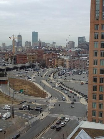 The Percy Inn: 16 Etage ausblick auf Boston