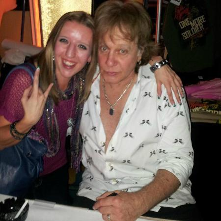 Hollywood Casino at Charles Town Races : Me with Eddie Money!