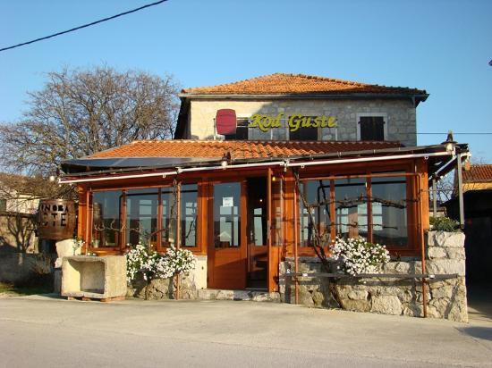 Sukosan, Croatie: Ingresso al ristorante