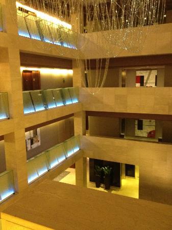 Hotel Miramar Barcelona: Lobby de l'hôtel en 3D
