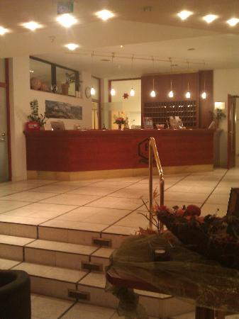 Hotel Elbschlösschen: Rezeption