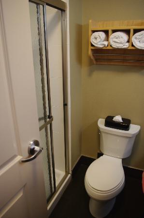La Quinta Inn & Suites Starkville at MSU: King Room Bathroom (rm 104)