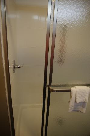 La Quinta Inn & Suites Starkville at MSU: King Room Shower (rm 104)