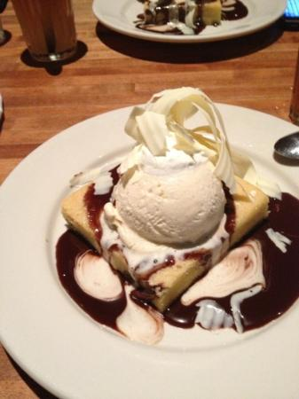 White Chocolate Brownie - Picture of The White Chocolate Grill ...