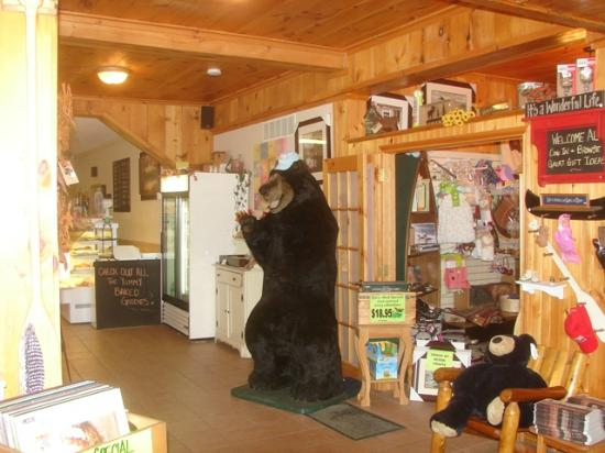 Erika's: Inside with Gift Shop