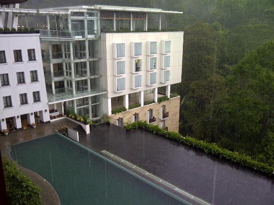 Padma Hotel Bandung: view from suite