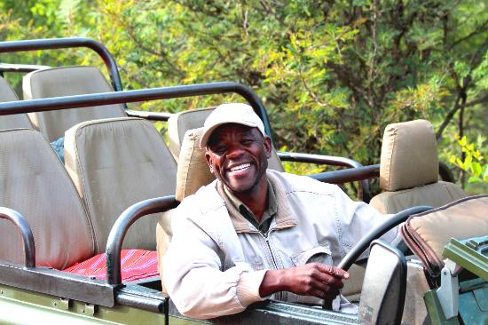 Garonga Safari Camp: The most friendliest smile I have ever seen! we loved Patrick!