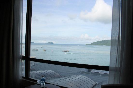 Hyatt Regency Kinabalu: view from room