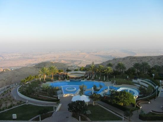 Mercure Grand Jebel Hafeet Al Ain: Dawn breaking on Al Ain