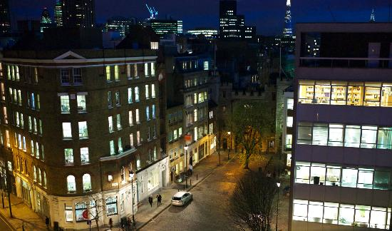 The Zetter Hotel : StJohns from suite 503