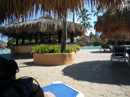 Punta Cana Princess All Suites Resort & Spa: The pool bar