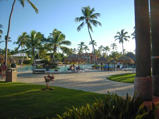 Punta Cana Princess All Suites Resort & Spa: View of the pool from our room