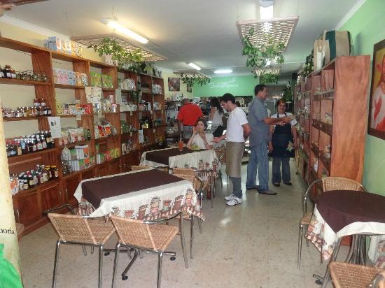Saludpan: variedad de productos oraganicos y comida sana
