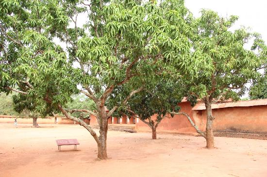 Royal Palaces of Abomey: Outer courtyard