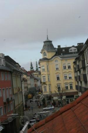 Hotel Geyer: the view from our window