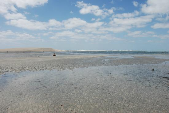 Jericoacoara Beach : Immenso bagnasciuga