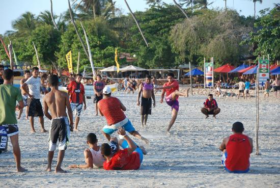 Jericoacoara Beach : Partita di calcio