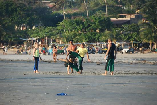 Jericoacoara Beach : Lezioni di capoeira