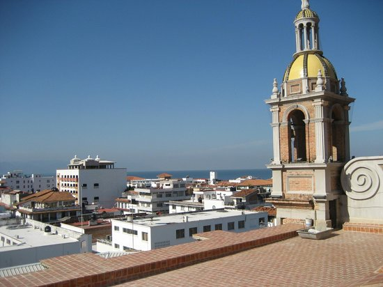 The Church of Our Lady of Guadalupe: Another 180 degree panoramic view from the roof