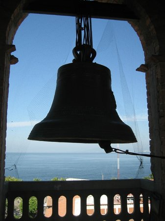 The Church of Our Lady of Guadalupe: Bells in the bell tower of Guadalupe Cathedral.