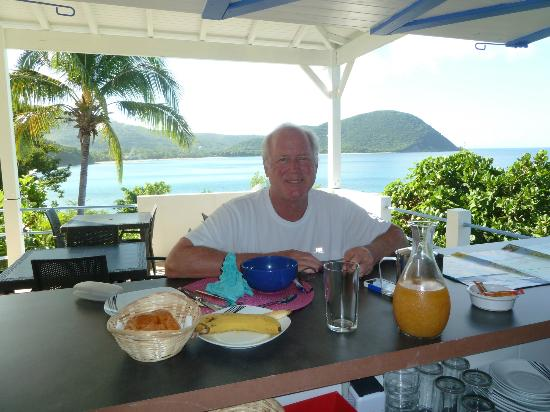 Les Reves d'Or: French Breakfast in the tropics!!