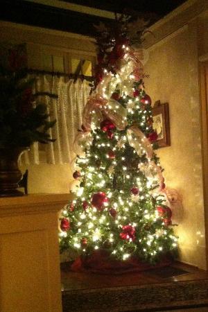 Christmas Tree at the Daisy Polk Inn