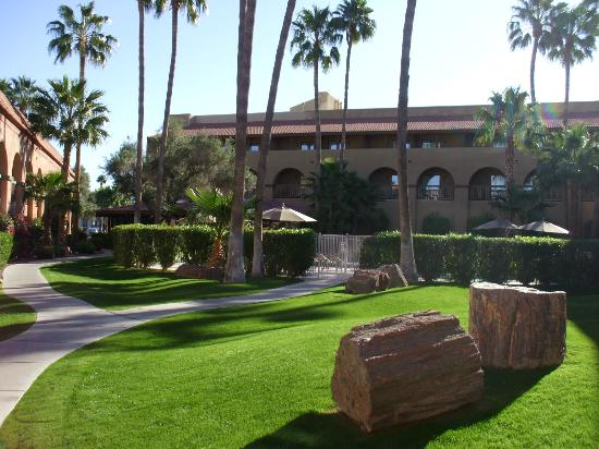 Four Points by Sheraton Tucson Airport: Wonderfully maintained grounds