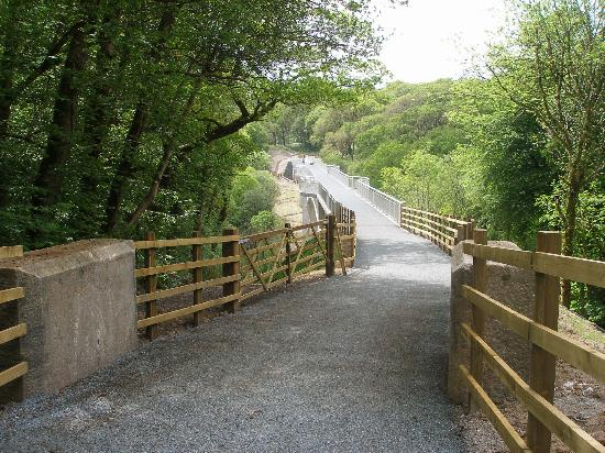 River Walkham Valley and Buckland Monachorum: gem bridge