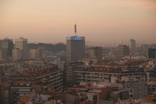 Melia Barcelona Sarria: View from the room 