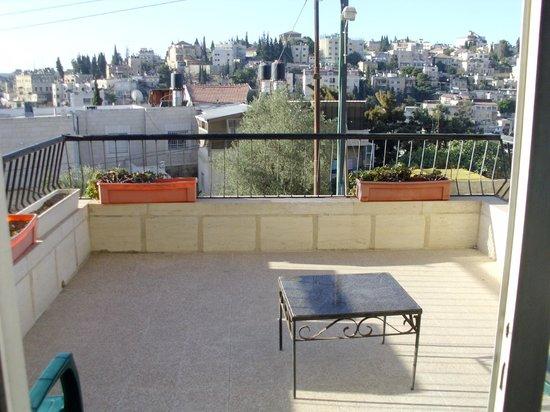 Alcazar Hotel: Вид с балкона