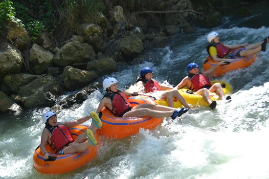 an overview of the adventures on the rapids