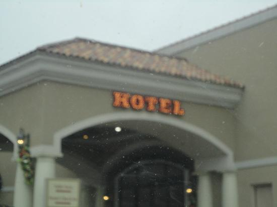 Boomtown Hotel Casino: Hotel entrance
