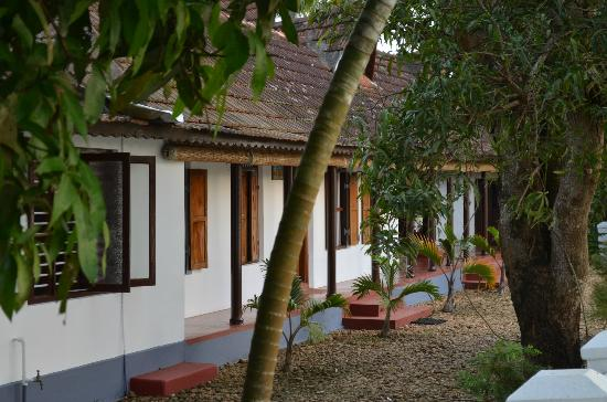 Thevercad Homestay: View from the path