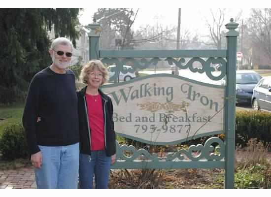 Walking Iron Bed and Breakfast: What a great place!
