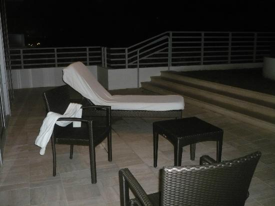 Hilton Bentley Miami/South Beach: terrasse