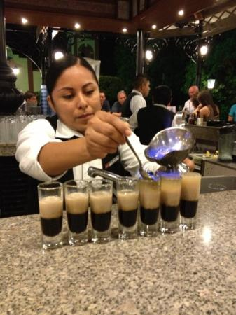 ClubHotel Riu Tequila: B 52's at the bar