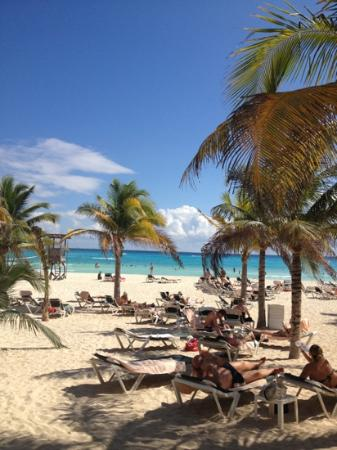 ClubHotel Riu Tequila: gorgeous beach