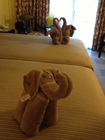 ClubHotel Riu Tequila: towel animals