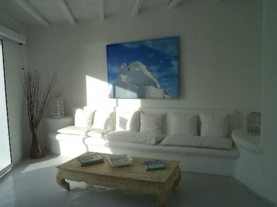 Rocabella Mykonos Art Hotel & SPA: Reception Area