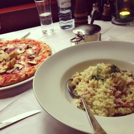 Pizza, risotto and view - Cantinetta La Norma