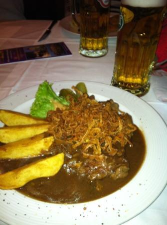 Porterhouse : tastes like Swiss steak but I LOVE Swiss steak!