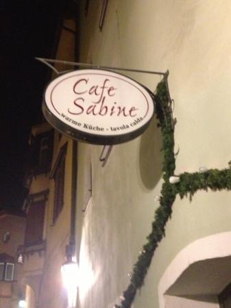 Caffe Sabine: entrata del café Sabine